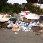 Резултати от невдигнат боклук